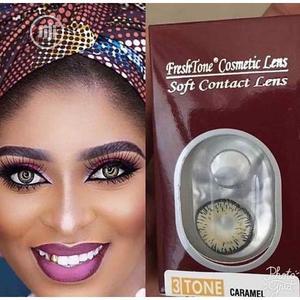 Freshtone 3- Tone Eye-To-Eye + Lens Case- Caramel   Skin Care for sale in Lagos State, Ojo