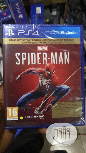 Brand New Ps4 Spider Man Cd | Video Games for sale in Lagos State, Ikeja