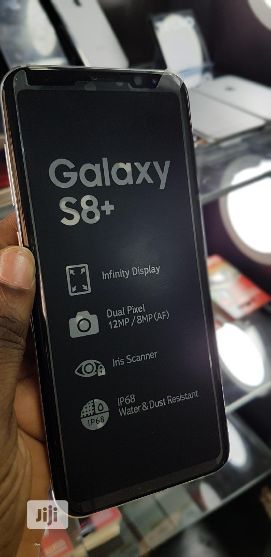 New Samsung Galaxy S8 Plus 128 GB Silver