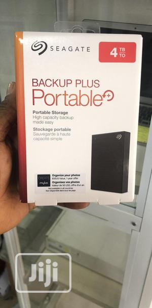 Backup Plus Portable 4TB Seagate External Hard Drive.   Computer Hardware for sale in Lagos State, Ajah