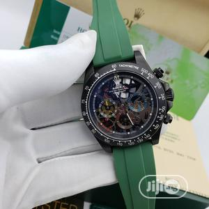 Rolex Oyster Perpetual Chronograph Rubber Strap Watch | Watches for sale in Lagos State, Lagos Island (Eko)