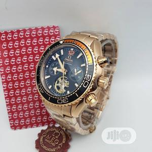 Omega (SEAMASTER) Automatic Chronograph Rose Gold Watch   Watches for sale in Lagos State, Lagos Island (Eko)