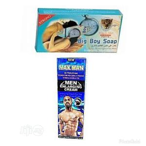 Maxman Enlargment Penis Gel &Touch Me Big Boy Soap Delay | Sexual Wellness for sale in Lagos State, Ojo