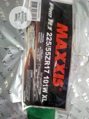 Maxxis Tyre 225/55/17 Thailand Quality Brand 1year Warranty | Vehicle Parts & Accessories for sale in Lagos State, Ikeja