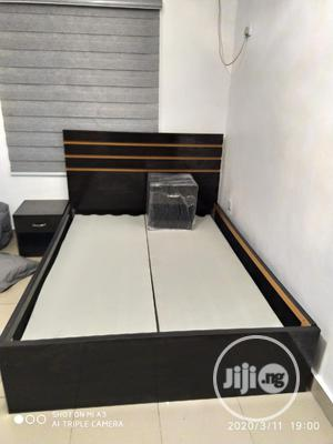 Bedframe 41/2 By 6ft With 2side Drawers | Furniture for sale in Lagos State, Oshodi