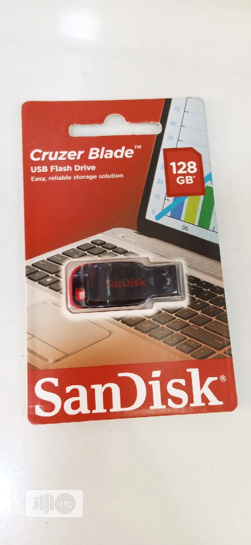 Sandisk 128GB Cruzer Blade USB Flash Drive   Computer Accessories  for sale in Ikeja, Lagos State, Nigeria