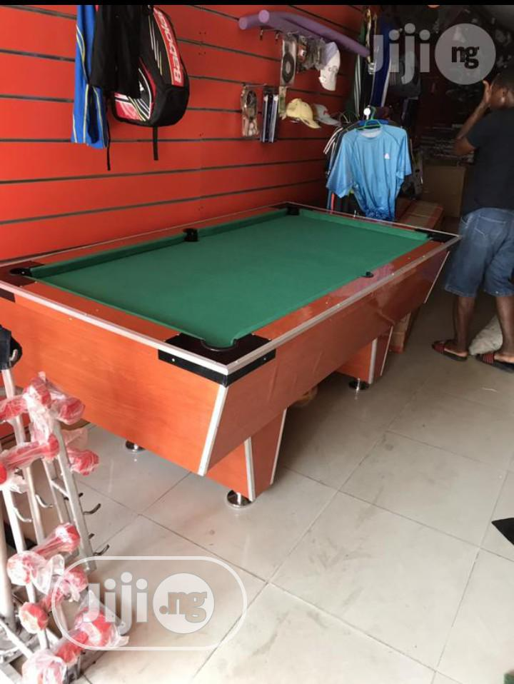 Archive: Brand New Localy Made 8ft Snooker Pool Table