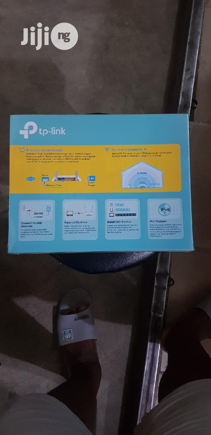 Archive: Tp-link 3G/4G Wireless N Router Tl-mr3420