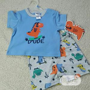 CJP Baby Boy 2 Piece Set - 24mths | Children's Clothing for sale in Lagos State, Surulere