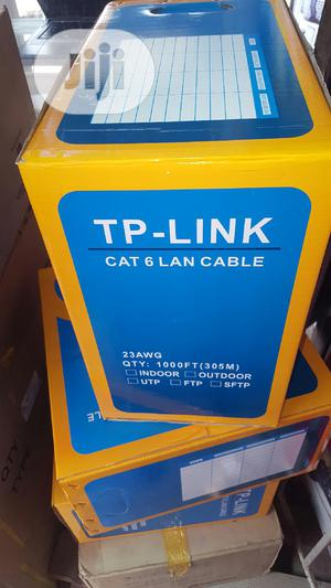 Tp-Link Cat 6 Lan Cable. | Accessories & Supplies for Electronics for sale in Lagos State, Ikeja