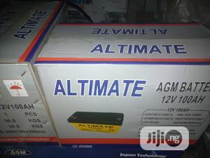 100ah/12v ALTIMATE Battery | Solar Energy for sale in Lagos State, Ojo