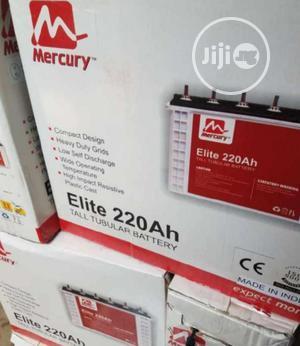 Mercury 220ah 12v Tubular Battery   Solar Energy for sale in Lagos State, Ojo
