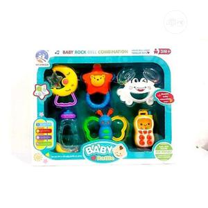 Musical Rattle and Teether Toy Set   Baby & Child Care for sale in Lagos State, Amuwo-Odofin