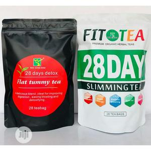 Flat Tummy and Slim Tea Combo | Vitamins & Supplements for sale in Lagos State, Surulere
