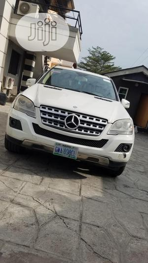 Mercedes-Benz M Class 2011 White   Cars for sale in Lagos State, Lekki