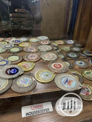 Gold Medals With Print | Arts & Crafts for sale in Lagos State, Ipaja