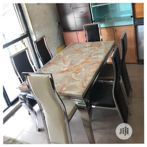 Ideal Unique Marble Dining Table | Furniture for sale in Lagos State, Lekki