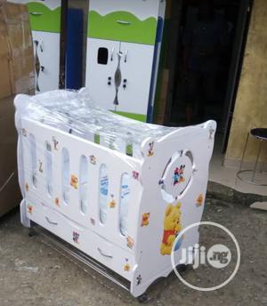 Children Wooden Bed With Cabinet | Children's Furniture for sale in Lagos State, Lagos Island (Eko)