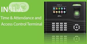 The Zkteco In01-a Fingerprint Time Attendance & Access Control Termina | Security & Surveillance for sale in Lagos State, Ikeja