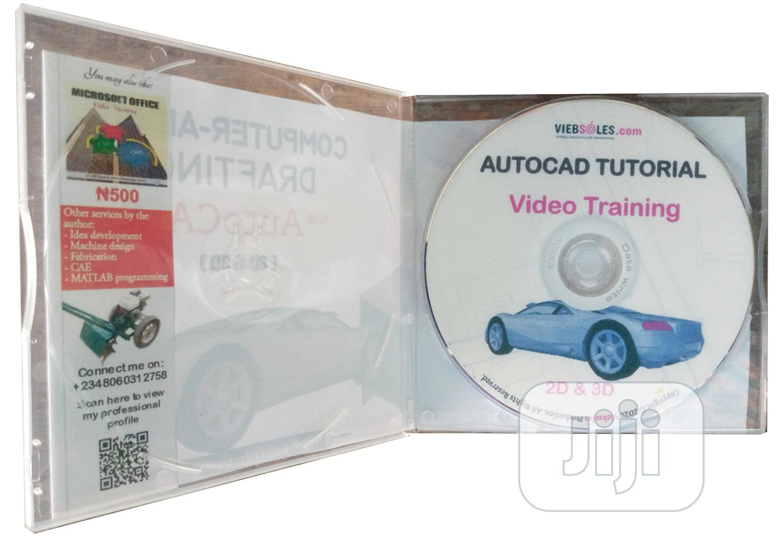 Archive: Autocad Video Training Product