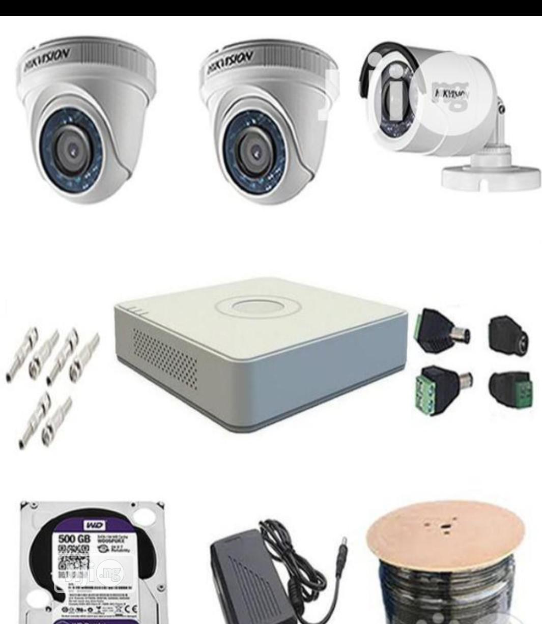Archive: 4channel CCTV Combo Kit Hikvision