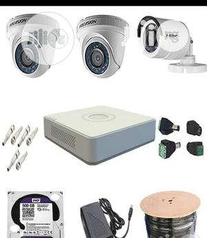 4channel CCTV Combo Kit Hikvision   Security & Surveillance for sale in Lagos State, Ikeja