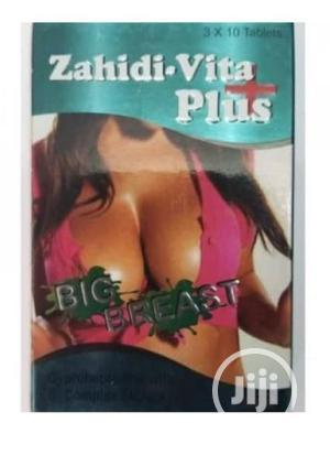 Vita Zahidi-vita Plus For Big Breast Tablets | Sexual Wellness for sale in Lagos State, Lagos Island (Eko)