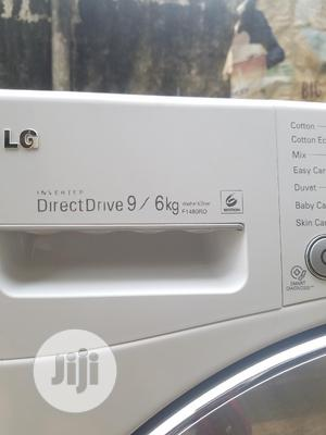 LG 9kg/6kg Direct D Digital Smart Wash Spin and Dry Machine | Home Appliances for sale in Lagos State, Alimosho