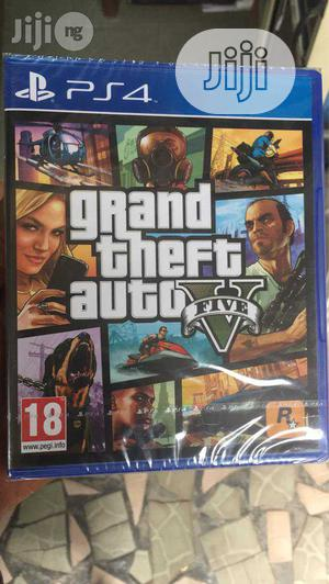 Playstation 4 Grand Theft Auto V | Video Games for sale in Lagos State, Ikeja