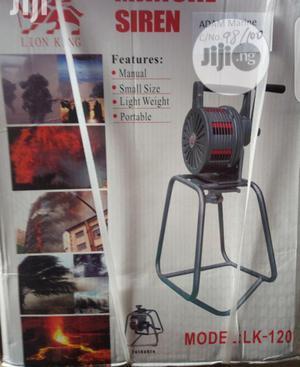 Manual Siren Alarm | Safetywear & Equipment for sale in Lagos State, Ikeja