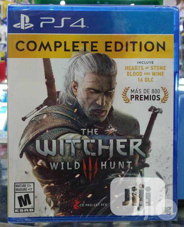 CD Projekt RED PS4 the Witcher 3: Wild Hunt