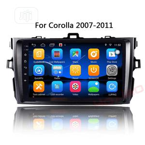 Toyota Corolla Car Android Stereo Radio Player With GPS Na   Vehicle Parts & Accessories for sale in Lagos State, Ojo