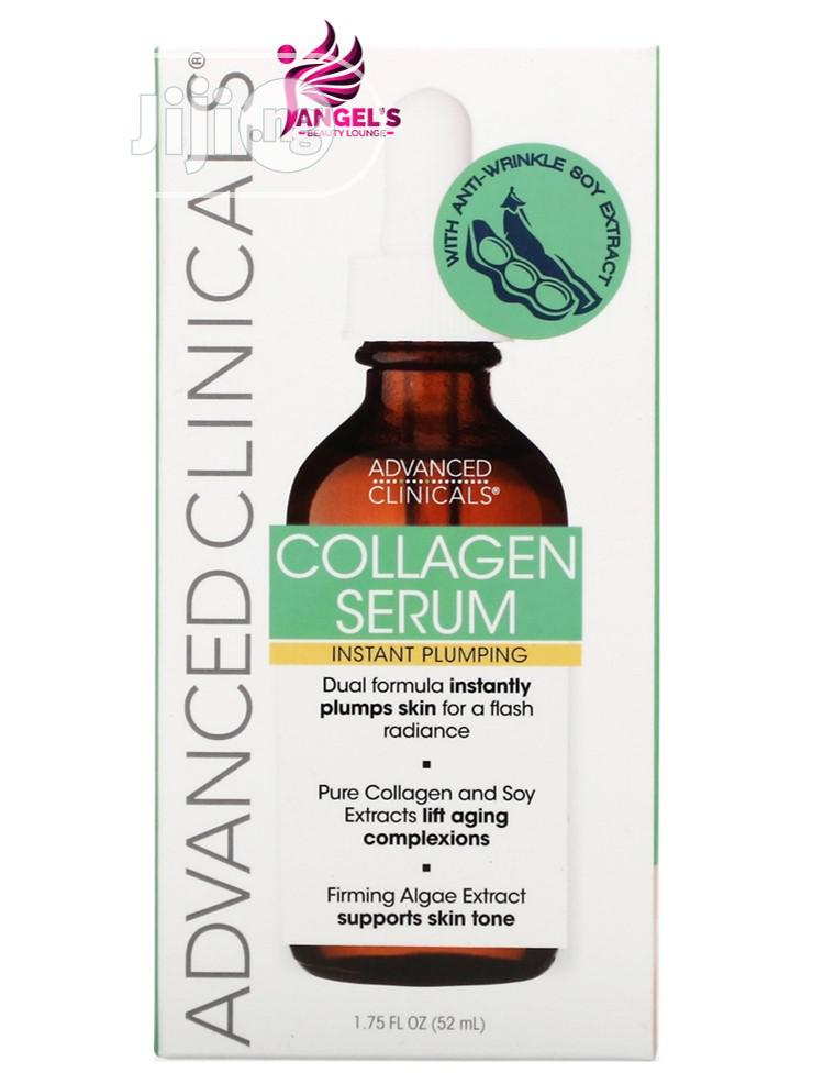 Advanced Clinicals Collagen Instant Plumping Serum 52ml