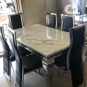 High Grade Marble Dining Table(074)   Furniture for sale in Lagos State, Surulere