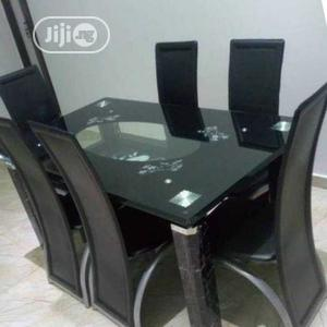 High Grade by Six Glass Dining Table   Furniture for sale in Lagos State, Amuwo-Odofin