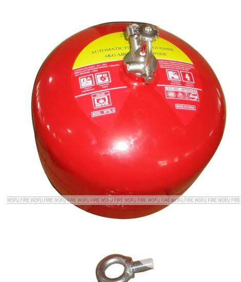 Archive: Automatic 9kg DCP Fire Extinguisher