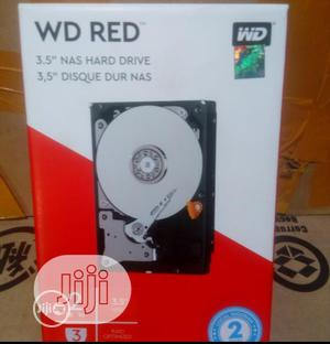 WD 2TB HDD 3.5 Nas Hard Drive   Computer Hardware for sale in Lagos State, Ikeja