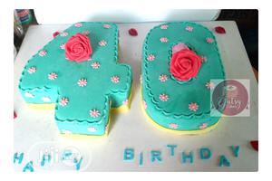 Double Digits Number Cake   Party, Catering & Event Services for sale in Rivers State, Port-Harcourt
