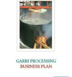 Business Plan Template On Garri Processing - (E-book).   Books & Games for sale in Lagos State, Ajah