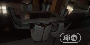 Italian Unique Marble Dining Table With 6 Chairs | Furniture for sale in Lagos State, Oshodi