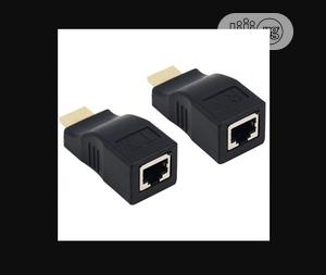 HDMI Extender Over Cat5e/6 Network Ethernet Adapter (4K / 1080P) – Up   Computer Accessories  for sale in Lagos State, Ikeja