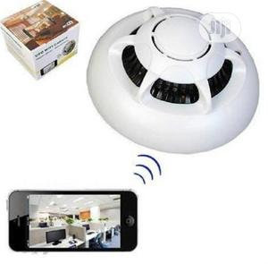 Wifi Smoke Detector Camera With Battery Backup   Security & Surveillance for sale in Lagos State, Ikeja
