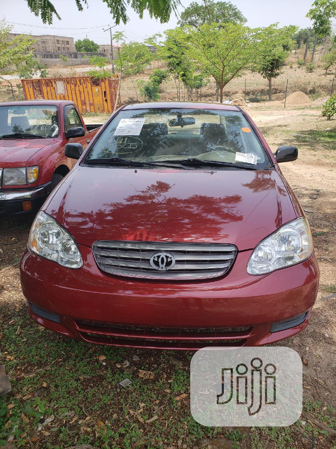 Toyota Corolla 2004 Red | Cars for sale in Galadimawa, Abuja (FCT) State, Nigeria
