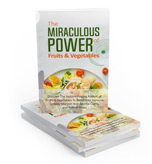 The Miraculous Power Of Fruits & Vegetables (E-book) | Books & Games for sale in Ogun State, Ado-Odo/Ota
