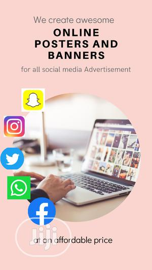 We Create Awesome Social Media Poster / DP | Computer & IT Services for sale in Lagos State, Isolo