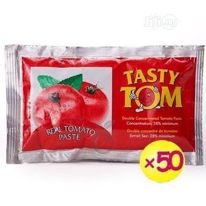 Carton Of Tasty Tom Sachet Tomato Paste   Meals & Drinks for sale in Lagos State, Oshodi
