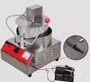 Single Pan Industrial Electric Pop Corn Maker Popcorn Making Machine   Restaurant & Catering Equipment for sale in Lagos State, Ojo
