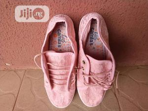 Girls Lace-Up Pink Sneakers (Teen) | Children's Shoes for sale in Lagos State, Ajah