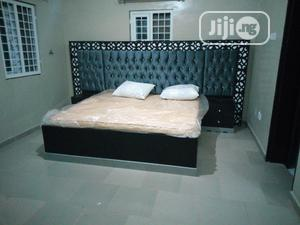 Executive Bed With Bed Side 6x6 | Furniture for sale in Lagos State, Mushin
