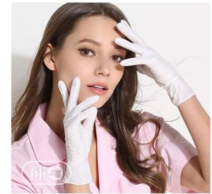 Elastic Protective Disposable Hand Gloves | Medical Supplies & Equipment for sale in Edo State, Benin City